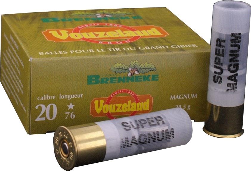 Balle C.20 Brenneke Magnum