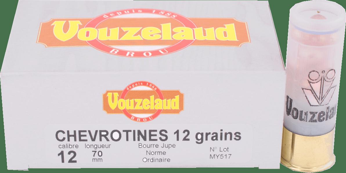 Balle C.12 Chevrotines 12 grains