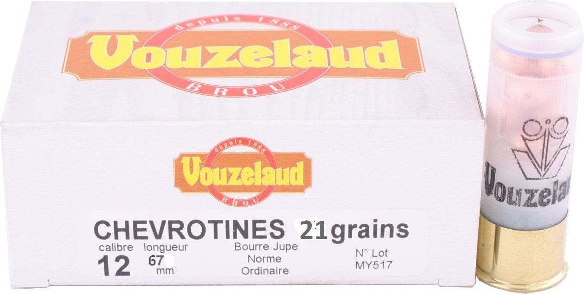 Balle C.12 Chevrotines 21 grains