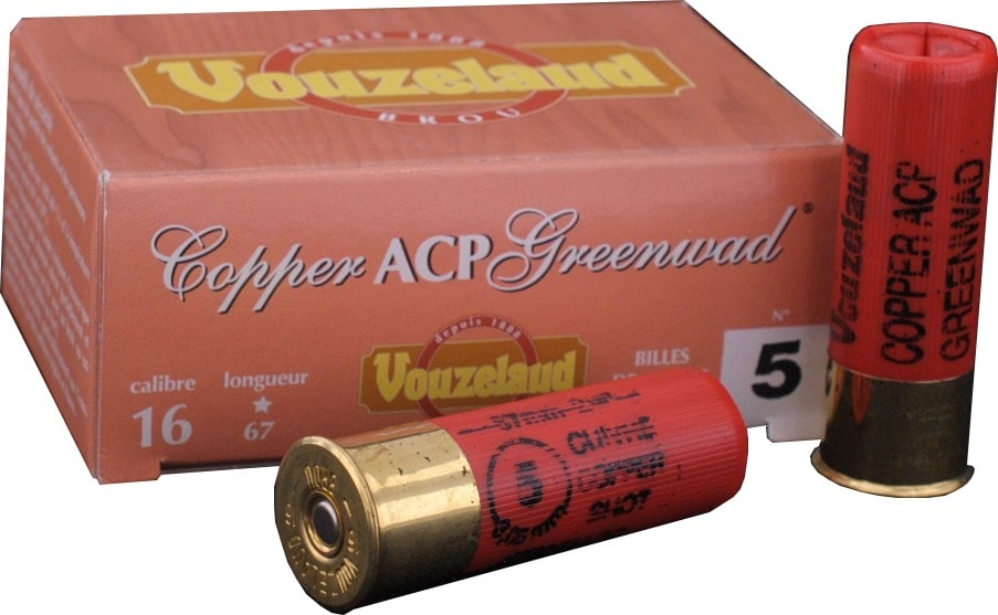 C.16 Copper ACP Greenwad n° 5