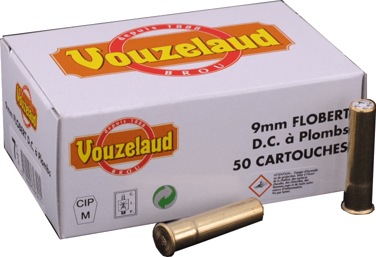 9 mm Flobert à plombs