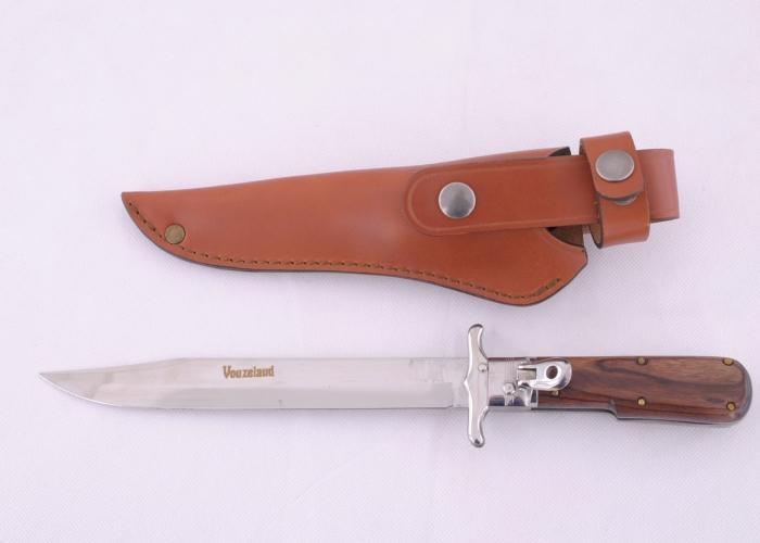 Dague pliante Vouzelaud manche palissandre - lame 18cm